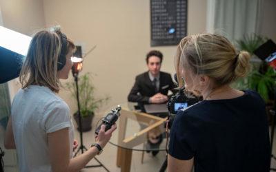 Réaliser une interview vidéo